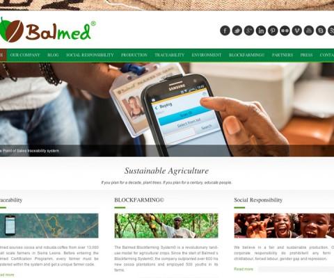 Screenshot der Webseite balmed.org