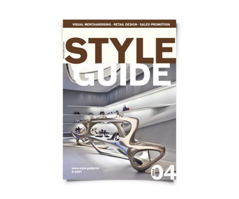 Cover des Fachmagazins STYLE GUIDE