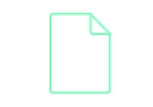 Blatt Papier Icon